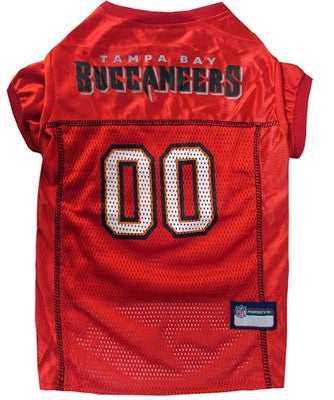 NFL Tampa Bay Bucs Dog Jersey - ZoeDoggy of Beverly Hills