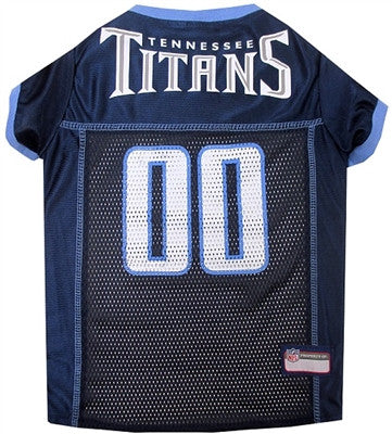 NFL Tennessee Titans Dog Jersey - ZoeDoggy of Beverly Hills