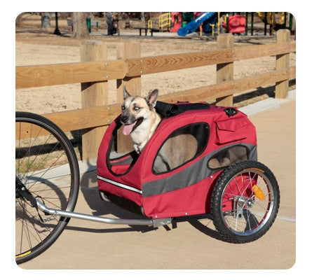 Track'r Houndabout II Medium Bicycle Trailer - ZoeDoggy of Beverly Hills
