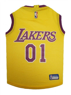 Los Angeles Lakers Dog Jersey - ZoeDoggy of Beverly Hills