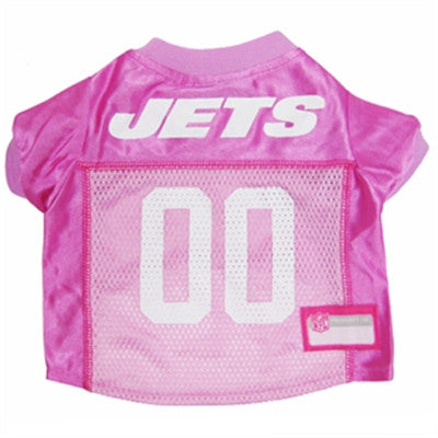 PINK NFL New York Jets Dog Jerseys - ZoeDoggy of Beverly Hills