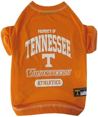 Tennessee Volunteers Dog Tee Shirt - ZoeDoggy of Beverly Hills