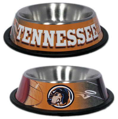 Tennessee Volunteers Dog Bowl - ZoeDoggy of Beverly Hills