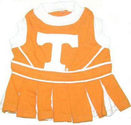 Tennessee Volunteers Cheerleader Dog Dress - ZoeDoggy of Beverly Hills