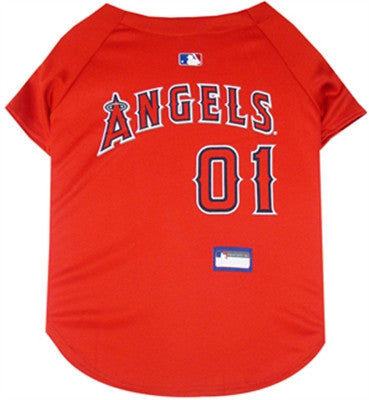 Los Angeles Angels Dog Jersey - ZoeDoggy of Beverly Hills