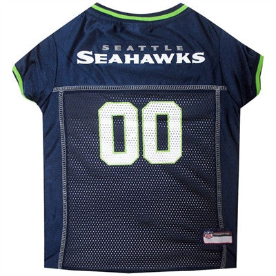NFL Seattle Seahawks Dog Jerseys - ZoeDoggy of Beverly Hills