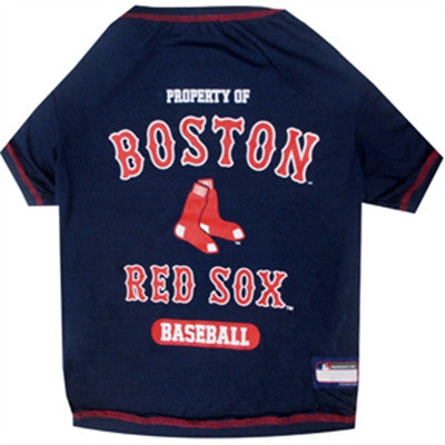 Boston Red Sox Dog Tee Shirt - ZoeDoggy of Beverly Hills