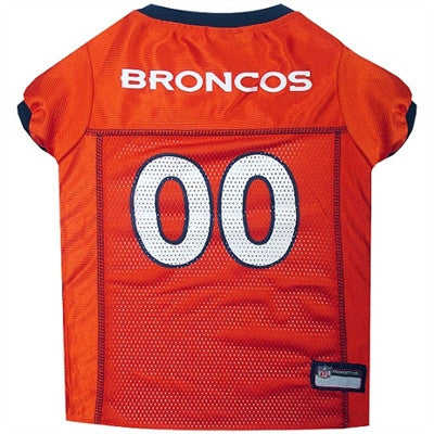 NFL Denver Broncos Dog Jerseys - ZoeDoggy of Beverly Hills