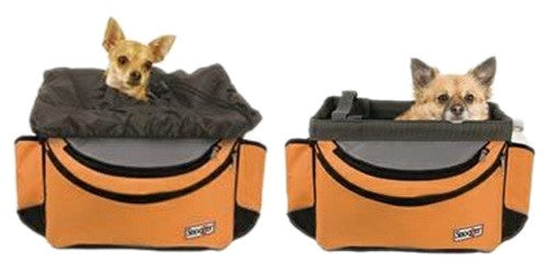 Sporty Bike Basket - Orange/Black/Grey - ZoeDoggy of Beverly Hills