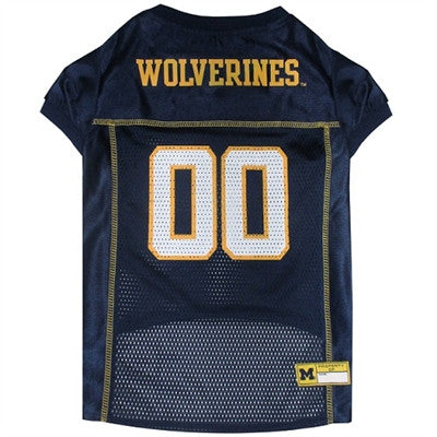 Michigan Wolverines Dog Jersey - ZoeDoggy of Beverly Hills