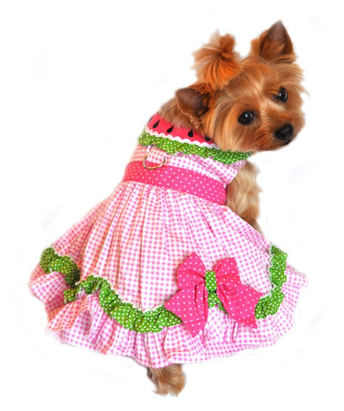New Velcro Dresses - Watermelon Dress - ZoeDoggy of Beverly Hills