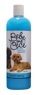 Bobbi Panter Bebe & Cece(tm) Dog Shampoo - Fresh Berry - 16 oz. - ZoeDoggy of Beverly Hills