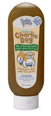 Bobbi Panter Charlie Dog Flea & Tick Shampoo - 10oz. Bottle - ZoeDoggy of Beverly Hills