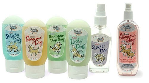 Bobbi Panter Dog Shampoo and Fur Care Travel Size Bottles - ZoeDoggy of Beverly Hills