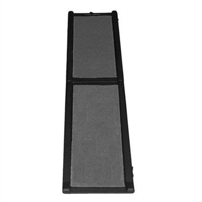 Carpeted Ramp Grey by Pet Gear - ZoeDoggy of Beverly Hills
