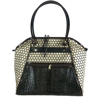 Croco Haylee Doggy Handbag by Petote - ZoeDoggy of Beverly Hills