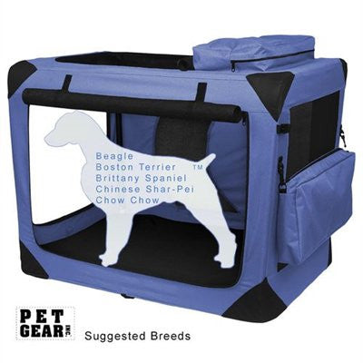 Intermediate Deluxe Soft Crate, Generation II - Lavender by Pet Gear - ZoeDoggy of Beverly Hills