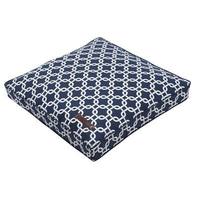 Jax and Bones Pillow Dog Bed - Marine - ZoeDoggy of Beverly Hills