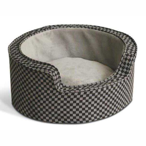 Self-Warming Dog Bed: K&H Round Comfy Sleeper - ZoeDoggy of Beverly Hills