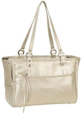Champagne Lucky Doggy Handbag by Petote - ZoeDoggy of Beverly Hills