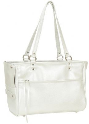 Platinum Lucky Doggy Handbag by Petote - ZoeDoggy of Beverly Hills