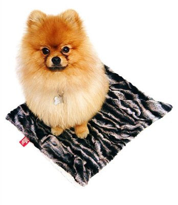 Lava Flow Minkie Binkie Dog Blanket - ZoeDoggy of Beverly Hills