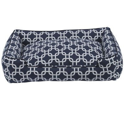 Jax and Bones Lounge Dog Bed - Marine - ZoeDoggy of Beverly Hills
