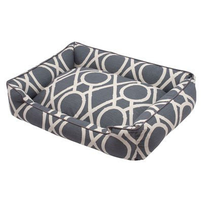 Jax and Bones Lounge Dog Bed - Solar - ZoeDoggy of Beverly Hills