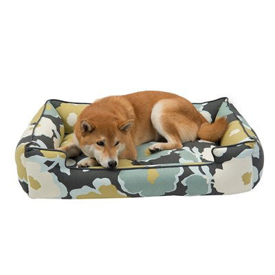 Jax and Bones Lounge Dog Bed - Magnolia - ZoeDoggy of Beverly Hills