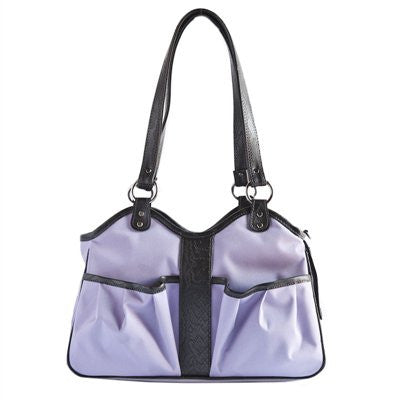 Lilac Metro 2 Doggy Handbag by Petote - ZoeDoggy of Beverly Hills