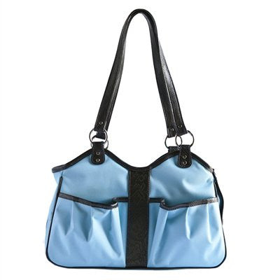 Turquoise Metro 2 Doggy Handbag by Petote - ZoeDoggy of Beverly Hills