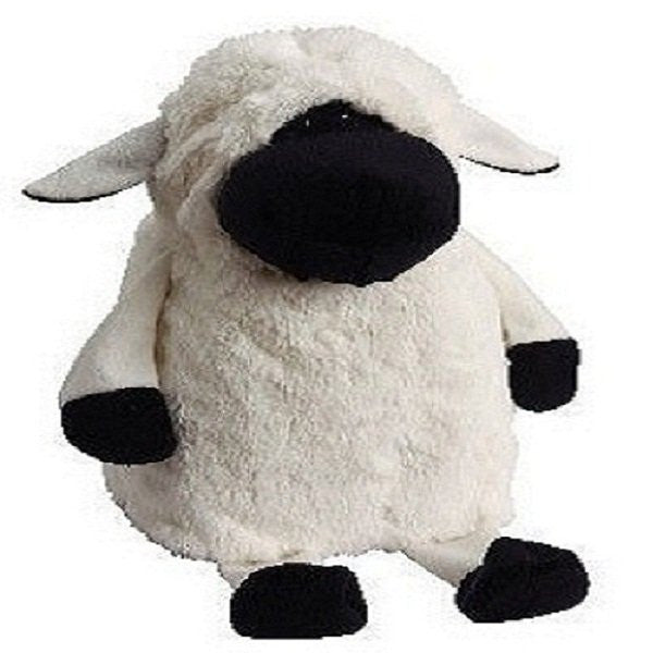 Doggles Milk Jug Dog Toy - White Sheep - ZoeDoggy of Beverly Hills