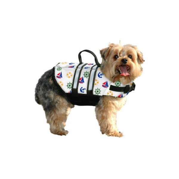 Paws Aboard Designer Doggy Life Jacket - Nauti Dog - ZoeDoggy of Beverly Hills