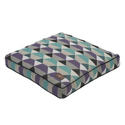 Jax and Bones Pillow Dog Bed - Origami Plum - ZoeDoggy of Beverly Hills