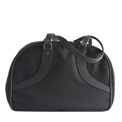 Black Roxy Doggy Handbag by Petote - ZoeDoggy of Beverly Hills