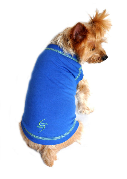 Sport Spot Tanks - Nautical Blue - ZoeDoggy of Beverly Hills