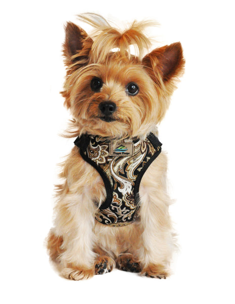 Wrap and Snap Choke Free Dog Harness - Island Tan - ZoeDoggy of Beverly Hills