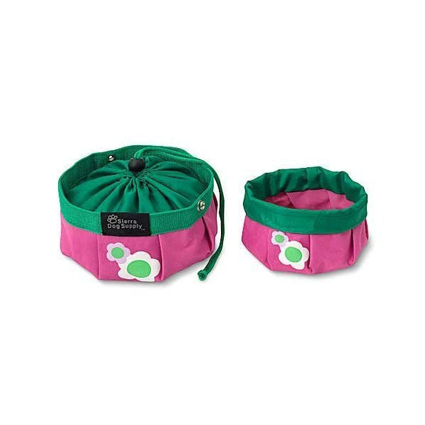 Doggles Travel Bowl - Large - Super Convenient! - ZoeDoggy of Beverly Hills