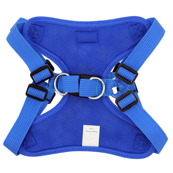 Wrap and Snap Choke Free Dog Harness - Hawaiian Blue - ZoeDoggy of Beverly Hills