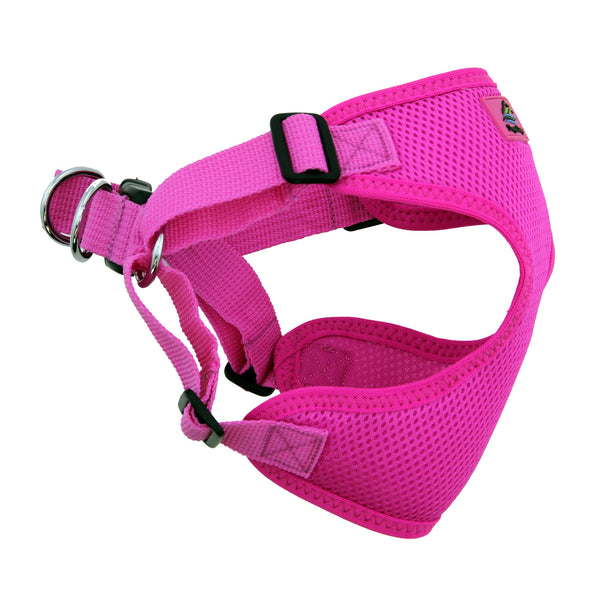 Wrap and Snap Choke Free Dog Harness - Raspberry Pink - ZoeDoggy of Beverly Hills