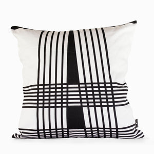 Lulasclan Wenda Black & White scatter cushion