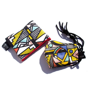 Interconnections & Intricate coin purse set