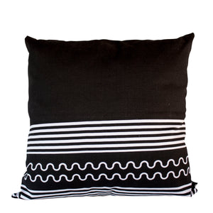 Lulasclan 60x60cm Xhosa black cushion