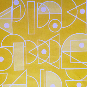 Citrus yellow fabric