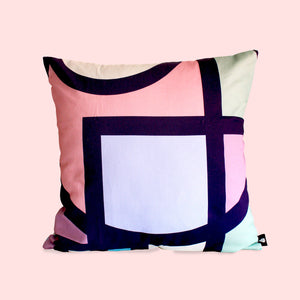 Pastel Circa stained glass Scatter Cushion - LulasClan