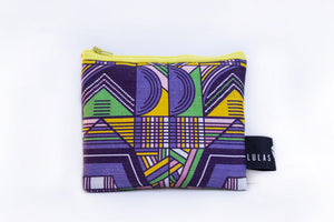 venda Weave print designer coin purse