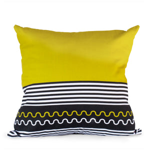 Lulasclan Xhosa Yellow scatter cushion cover