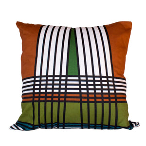 Lulasclan Venda Wenda Rust Scatter Cushion