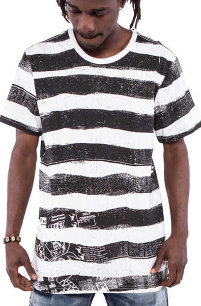 Mobilize Graphic Deconstructed Tee