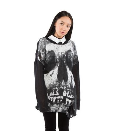 Loose Tooth Torn Sweater